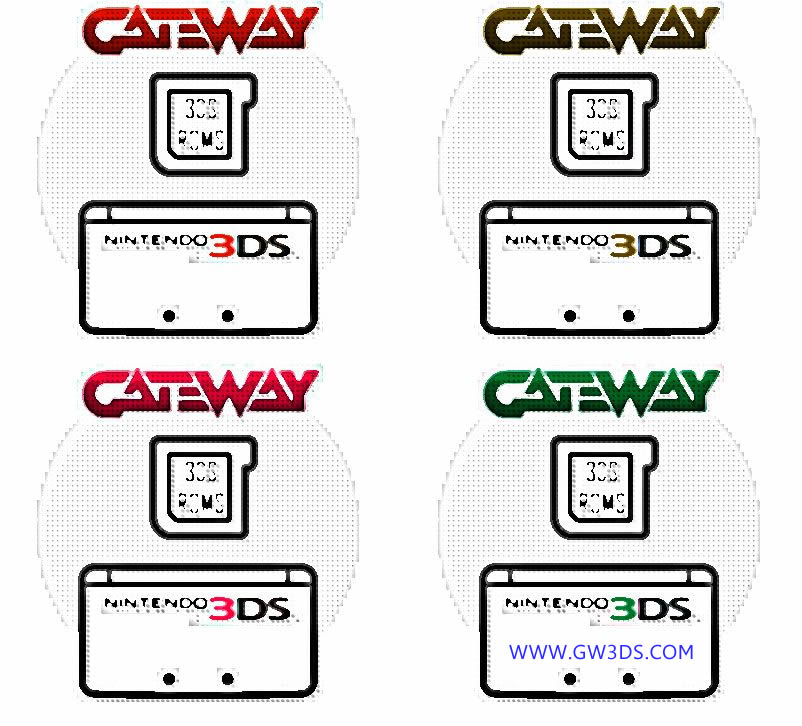 Nintendo 3DS Gateway Cards